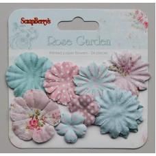 Papieren bloemen Rose Garden