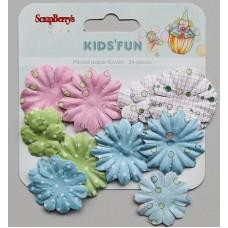 Papieren bloemen Kids Fun