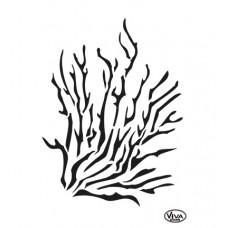 Mask stencil Coral