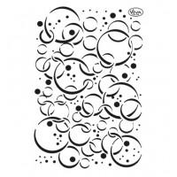 Mask stencil Bubbles