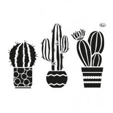 Mask stencil Cacti