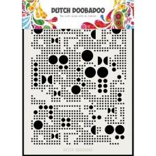 Mask Art Various Dots