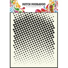 Mask Art Faded Dots
