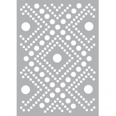 Mask stencil Dots Pattern
