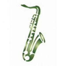 Mask stencil Saxofoon