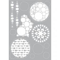 Mask stencil Bubble