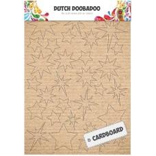 Cardboard Art Stars