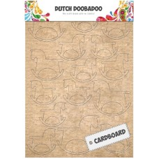 Cardboard Art Rocking Horse