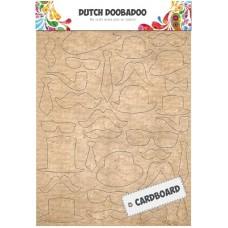 Cardboard Art Mustaches