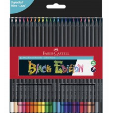 Black Edition kleurpotloden set van 24