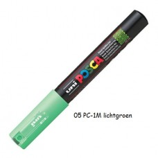 Uni Posca marker lichtgroen