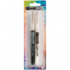 Dylusions paint pens Black & White