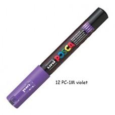 Uni Posca marker violet