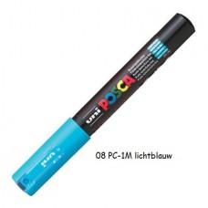 Uni Posca marker lichtblauw