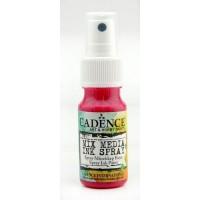 Mixed media shimmer spray lichtfuchsia