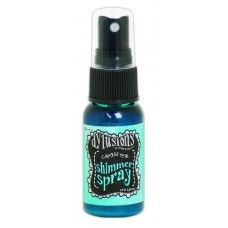 Dylusions shimmer spray Calypso Teal