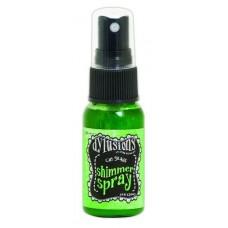 Dylusions shimmer spray Cut Grass