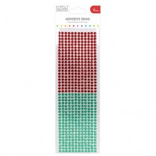 Plakstenen 6 mm rood en groen