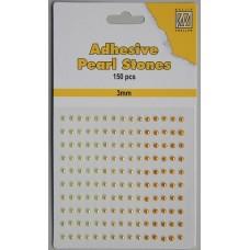 Plakparels 3mm geel