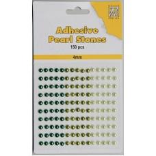 Plakparels 4mm groen