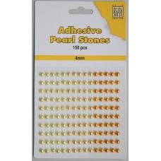 Plakparels 4mm geel