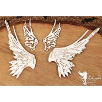 Chipboard Big wings set