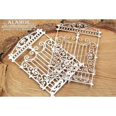 Chipboard Alamor - Hekwerk dubbel