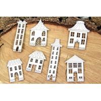 Chipboard huisjes