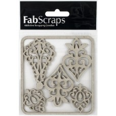 Chipboard Ornamental filigree