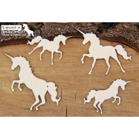 Chipboard Believe in Unicorns