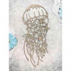 Chipboard Tropical jellyfish