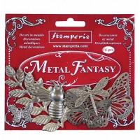 Metal Fantasy Embellishments Nature