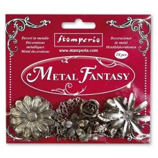 Metal Fantasy Flowers
