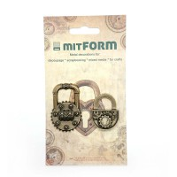 Metal embellishments Padlocks 1