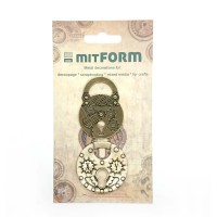 Metal embellishments Padlocks 2
