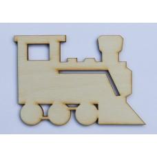Houtboard trein