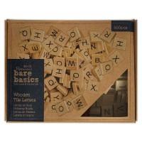 Houten letter blokjes - grootverpakking