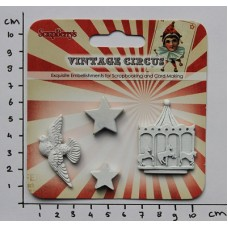 Polymeer figuren 'Vintage Circus Carrousel'