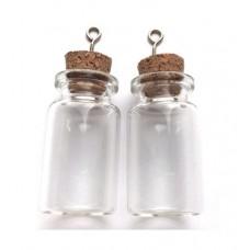 Glazen flesjes 22 x 40 mm