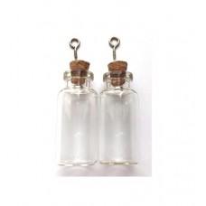 Glazen flesjes 18 x 40 mm