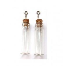 Glazen flesjes 12 x 40 mm