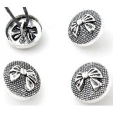 Metalen knoop strik
