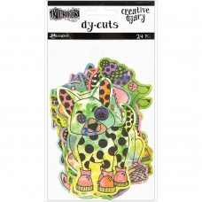 Creative Dyary Dy-cuts -  Colored animals