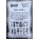 Creative Dyary Dy-cuts - Black and white