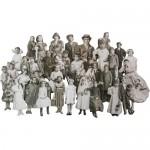 Baseboard dolls