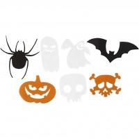 Halloween figuren van karton
