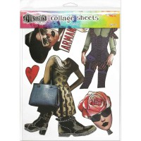 Collage sheets set 3