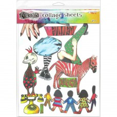 Collage sheets set 4