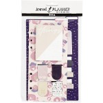 Sticky notes en bladwijzer set paars