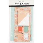 Sticky notes en bladwijzer set oranje